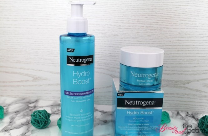 Die neue Neutrogena Hydro Boost Pflegeserie [Review] | Beauty and the beam