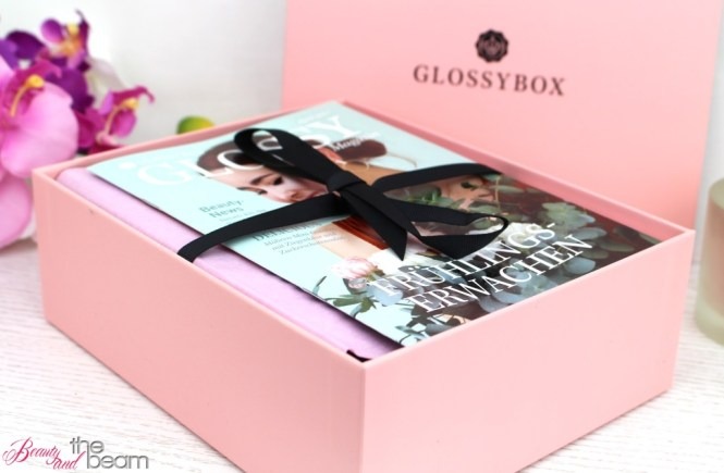 """Glossybox """"Frühlingserwachen"""" April 2017 [Unboxing] 