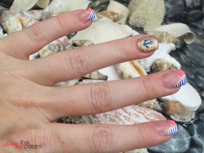 Nageldesign Maritime Nagel Beauty And The Beam
