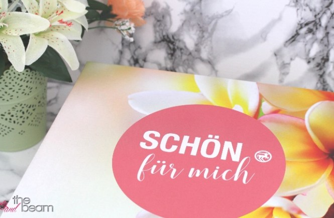 [Unboxing] Schön für mich Box August 2017 | Beauty and the beam