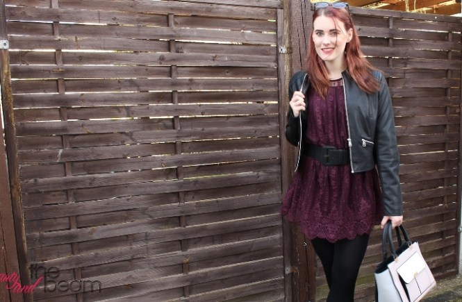 [Outfit] Frühjahrslook im Spitzenkleid | Beauty and the beam