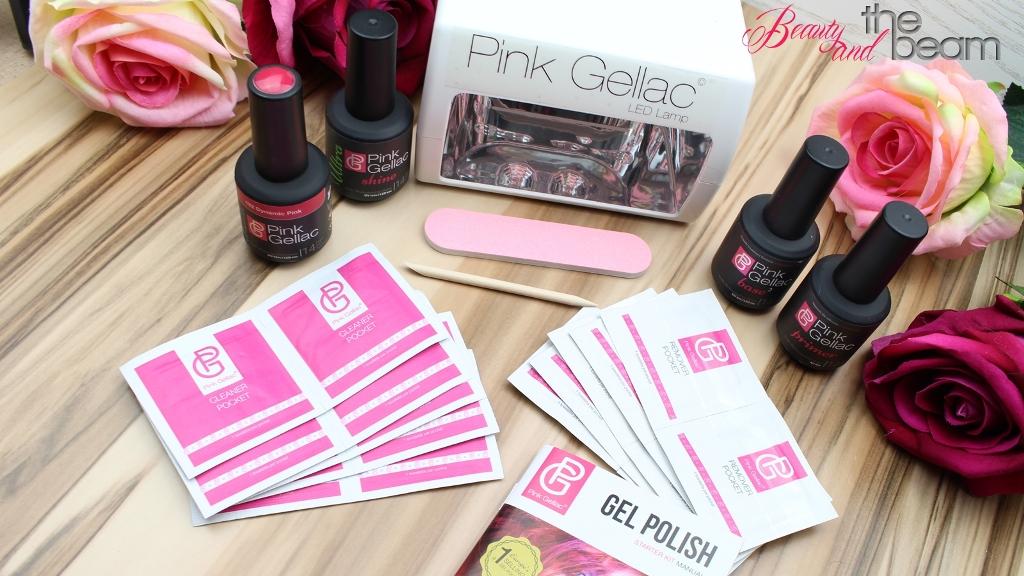[Nails] Pink Gellac Starter Kit + Gewinnspiel