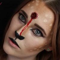 [Halloween] SFX Make Up – Reh mit Schusswunde