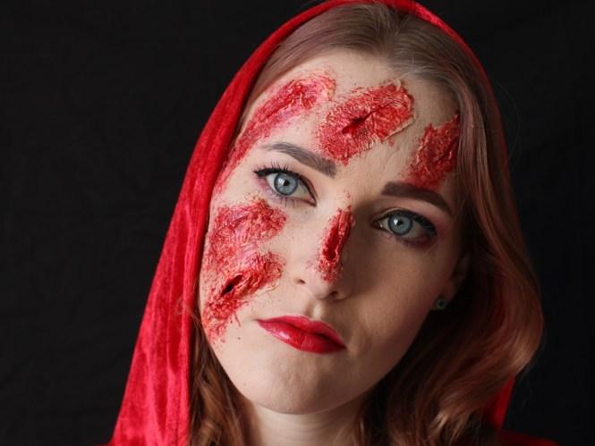 Rotkäppchen SFX-Make Up [Halloween]