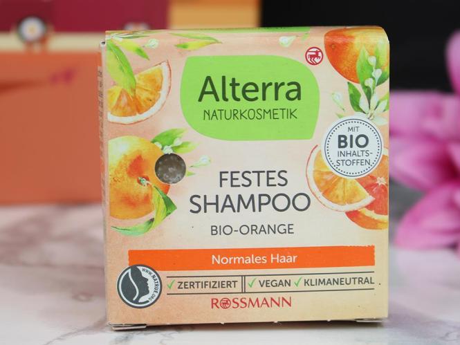 Pink Box Indian Summer - September 2021 Alterra festes Shampoo