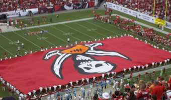 Tampa Bay Buccaneers and Veggie Burgers