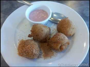 Peach Valley Cafe Apple Fritters