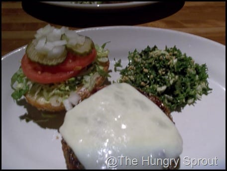 Houston's Veggie Burger
