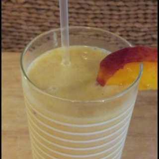 Peach Milkshake (a la Chick-Fil-A)