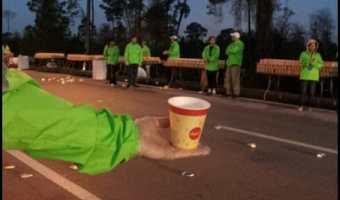 Volunteering at the Disney Marathon