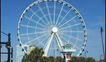 Myrtle Beach- Ferris Wheels, the Beach and Donuts