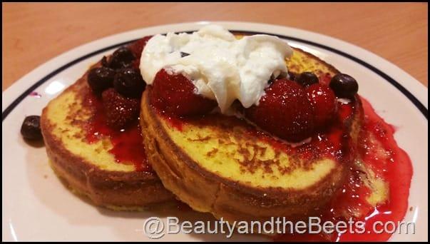 Berry Berry Brioche French Toast