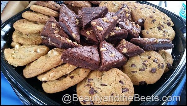 IOA Brownies and Cookies