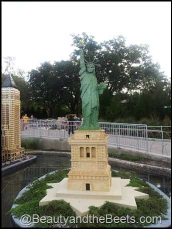 NYC Statue of Liberty Legoland
