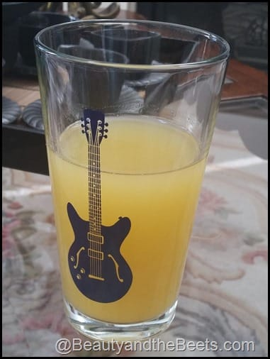 Pineapple Juice and Coconut Water BeautyandtheBeets