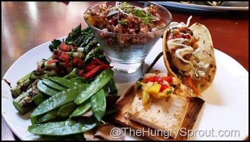 Spring Vegetarian Plate