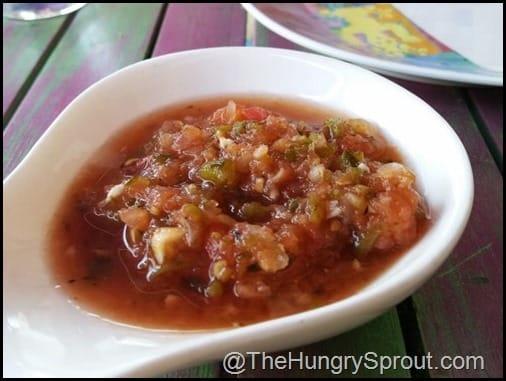 Salsa Rosa Mexicano Miami The Hungy Sprout