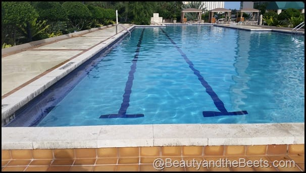 Lap pool Hyatt Regency Beauty and the Beets