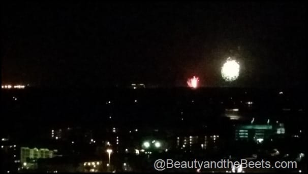 Magic Kingdom fireworks Hyatt Regency