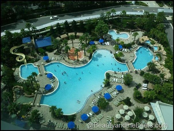The pool at Hyatt Regency Orlando