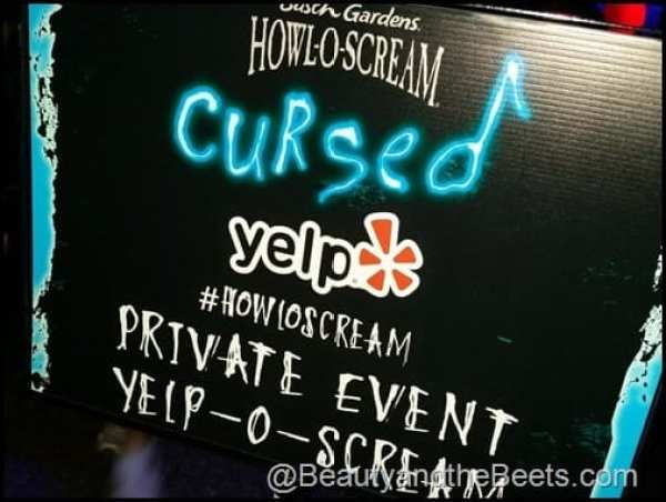 Yelp Cursed Private Party