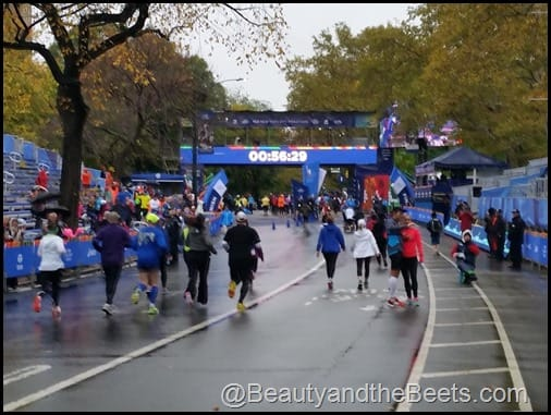 NYCM Finish Line Beauty and the Beets
