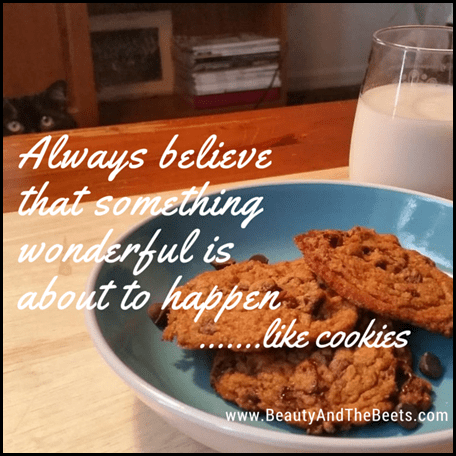 Always Believe in Cookies Beauty and the Beets