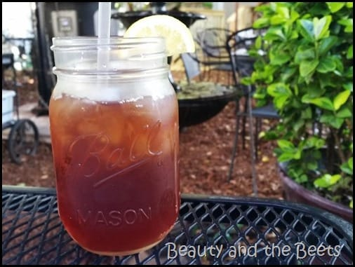South Carolina Sweet Tea A Lowcountry Backyard Restaurant Beauty and the Beets
