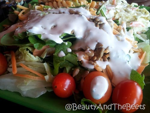 Drunken Jacks salad bar
