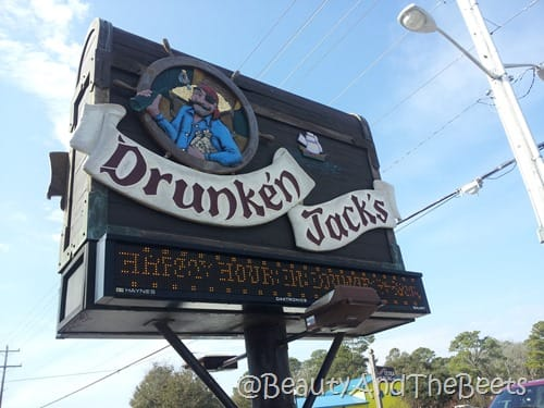 Drunken Jacks sign