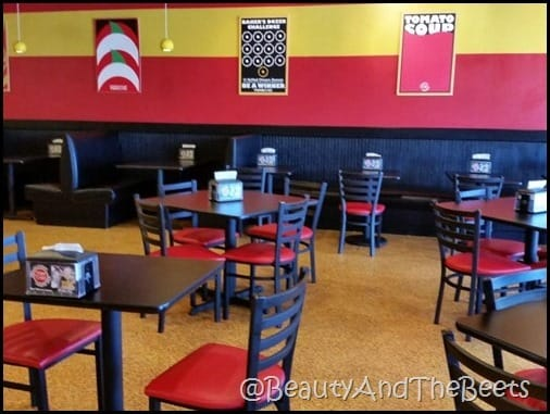 Tom and Chee Kennesaw dining room Beauty and the Beets