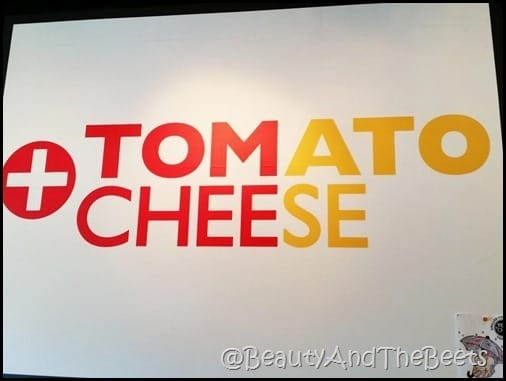 Tom and Chee Tomato and Cheese Beauty and the Beets