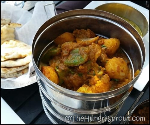 Dum Aloo Gobi Mynt Fine Indian Cuisine Beauty and the Beets