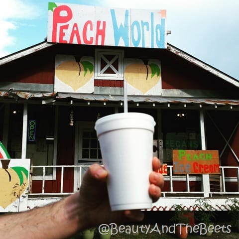 Peach World Peach Slushie Beauty and the Beets