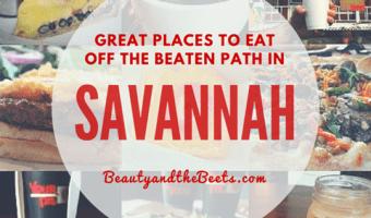 Savannah Restaurants worth a visit