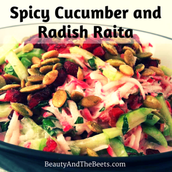 Spicy Cucumber Raita