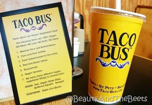 Taco Bus Beauty and the Beets Tampa