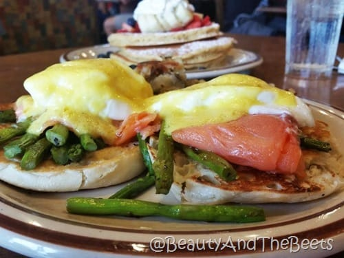 Salmon Benedict Va Beach Beauty and the Beets