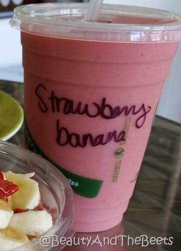 Strawberry Banana Smoothie Island Organics Beauty and the Beets