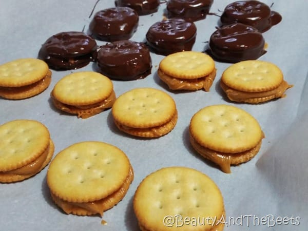 Chocolate Covered Peanut Butter Cookies Beauty and the Beets