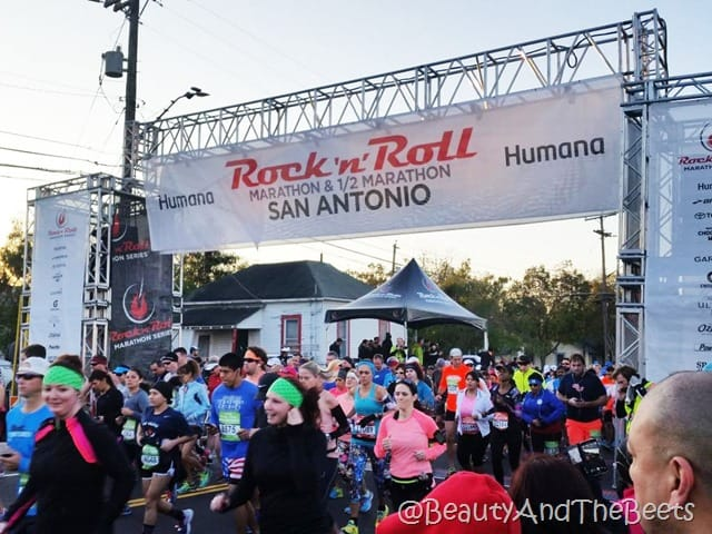 Humana Rock'n'Roll San Antonio Half Marathon Beauty and the Beets