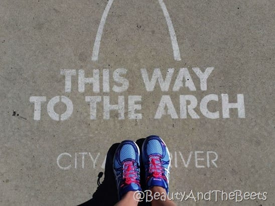 This Way To The Arch Beauty and the Beets