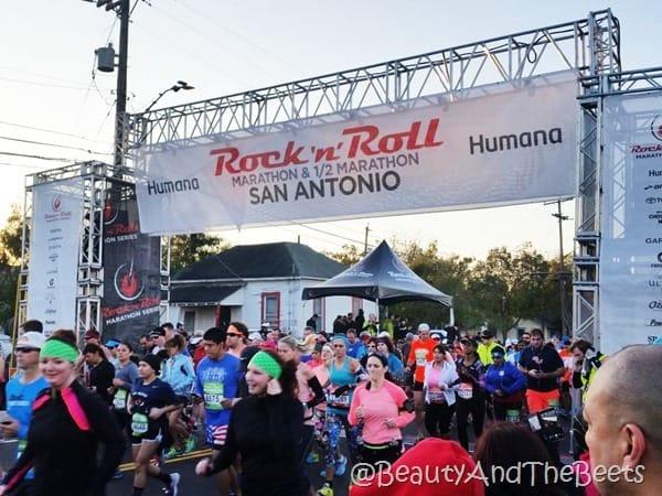 Humana Rock'n'Roll San Antonio Half Marathon Beauty and the Beets