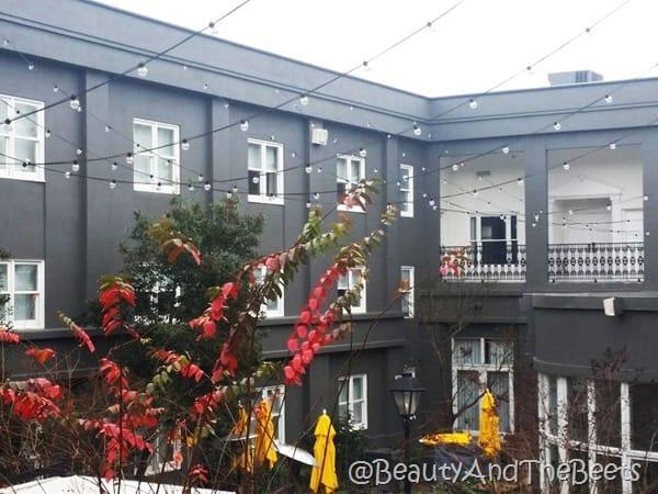 Courtyard at The Brice Savannah Beauty and the Beets