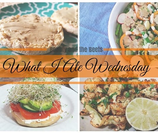 What I Ate Wednesday Beauty and the Beets 2-24
