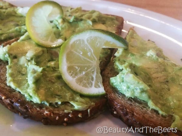 Avocado Toast Brownstone Pancake Factory Beauty and the Beets