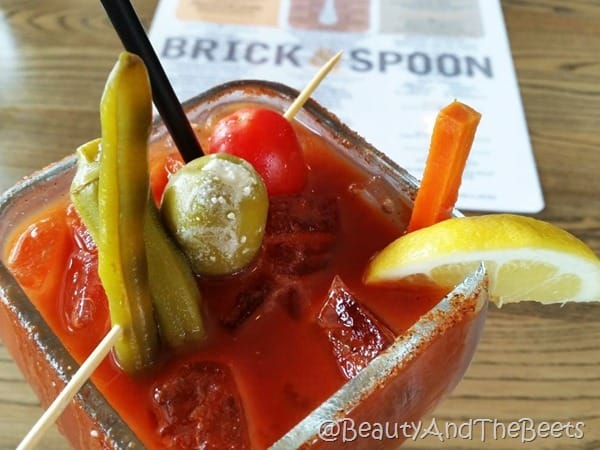 Bloody Mary Brick and Spoon Orange Beach Beauty and the Beets