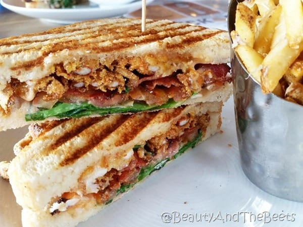 Crabcake BLT Brick and Spoon Orange Beach Beauty and the Beets