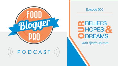 Food Blogger Pro podcast