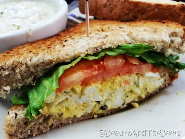 Shakers Orlando Egg Salad Beauty and the Beets